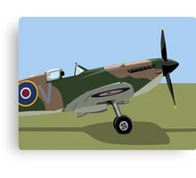 Spitfire WW2 Fighter Canvas Print