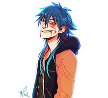 Sly Blue - DRAMAtical Murder Photographic Print