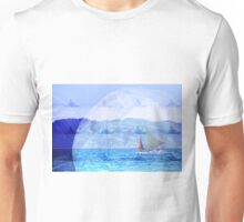 sailing the world with dad Unisex T-Shirt