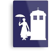 MARY WHOVIANS Metal Print