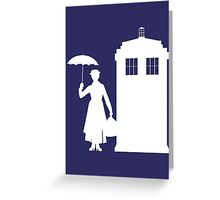 MARY WHOVIANS Greeting Card