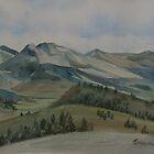Montana Skyline by JennyArmitage