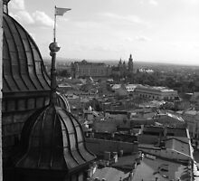 Krakowian Vista - St Mary's Basilica, Krakow, Poland by BlackhawkRogue