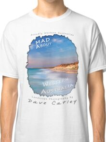 Dave Catley Landscape Photographer - Fine Art T-Shirt (Quinns Rocks) Classic T-Shirt