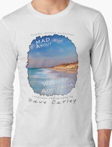 Dave Catley Landscape Photographer - Fine Art T-Shirt (Quinns Rocks) Long Sleeve T-Shirt