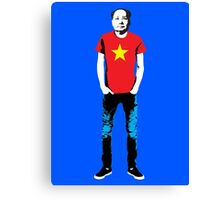 Hipster Mao Canvas Print