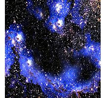 Stars in a Blue Night Sky Photographic Print
