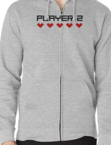 Player 2 Zipped Hoodie