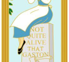 Belle Grave Stretching Sticker