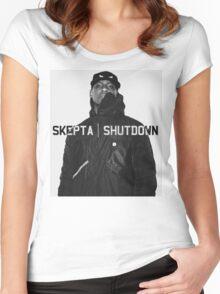 Skepta | Shutdown | T-shirt  Women's Fitted Scoop T-Shirt