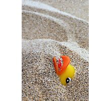 Quicksand,without Question,is a Quacker's Worst Fear! Photographic Print