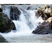 Waterfall In Virginia Photographic Print
