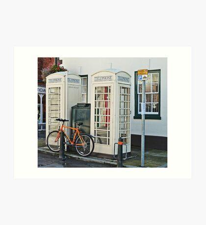 Telephone Twice Art Print