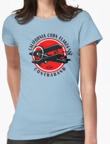 california corn flakes Womens Fitted T-Shirt