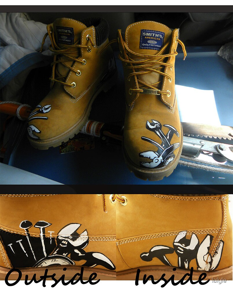 Work Boots Commission by lalyle
