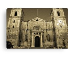Cathederal Valletta Canvas Print