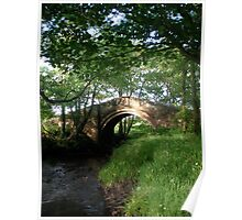 The Old Bridge 2, North Yorkshire Poster