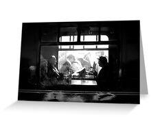 Passengers Greeting Card