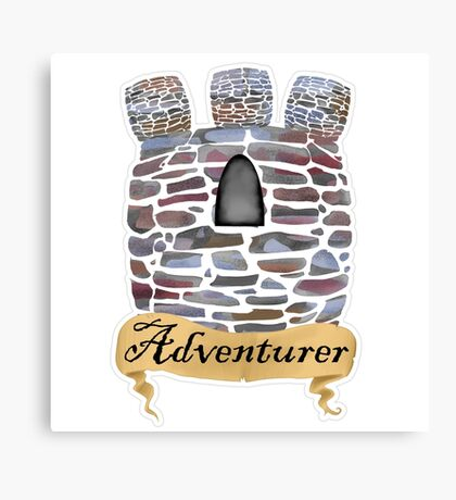Adventurer's Tower Canvas Print
