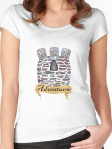 Adventurer's Tower Women's Fitted Scoop T-Shirt