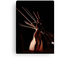 Dancers create the dreams Canvas Print