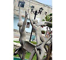 Fountain men Photographic Print