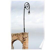 Street Lamp Poster