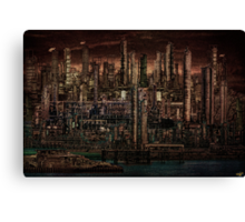 INDUSTRIAL PSYCHOSIS Canvas Print