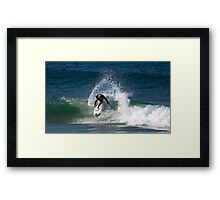 360 at Narrabeen Beach NSW Framed Print