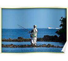 Wade Fishing  Poster
