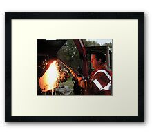 The Working Man, East Yorkshire Framed Print