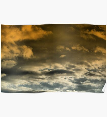 Looming Clouds...... Poster