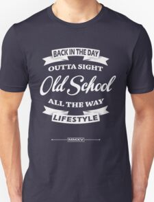 old school label T-Shirt