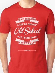 old school label Unisex T-Shirt