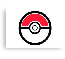 Pokemon Pokeball 1 Canvas Print
