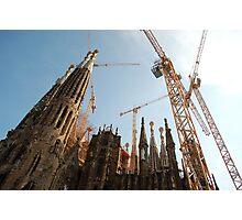 Sagrada Familia Photographic Print