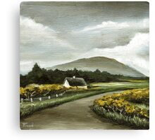 Connemara cottage Canvas Print