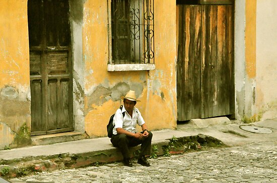 "Chapin (slang for ""Guatemalan man"") by Valerie Rosen"