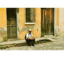 """Chapin (slang for """"Guatemalan man"""") Photographic Print"""