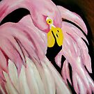 pinky the bird by irisgrover
