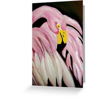 pinky the bird Greeting Card