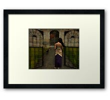 Come On In    (Birthday Challenge Entry) Framed Print