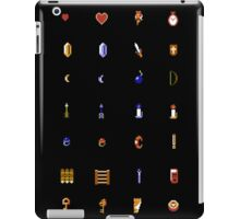 Zelda - The Items Without Text iPad Case/Skin