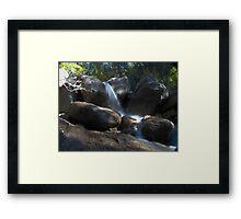 Horsethief Falls Framed Print