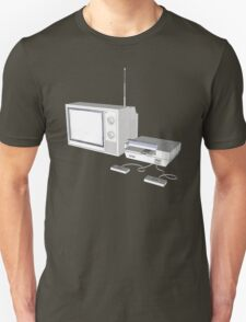 NES and TV T-Shirt