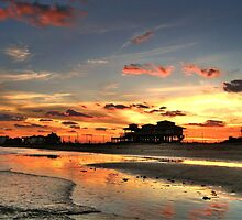 Galveston Sunset by venny