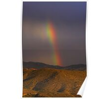 Rainbow on the Mountain Poster