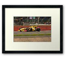 F1 @ Silverstone Framed Print