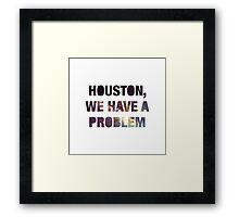 Houston Framed Print