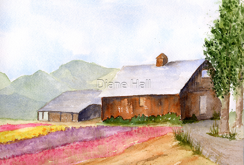 Spring Delight. by Diane Hall
